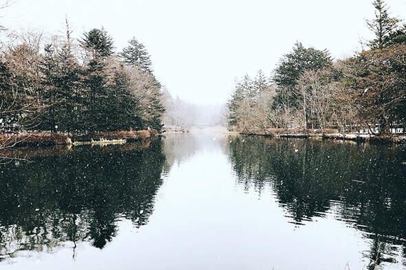 冬季限定!潔白耀眼的雪景 美呆輕井澤