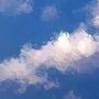 navyblue77 當白雲飄進藍天